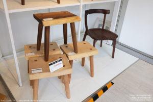 アトリエ木馬横浜ギャラリーの椅子