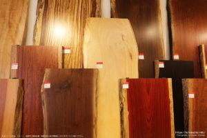 一枚板で人気の木材ベスト3