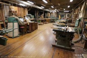 ノックオンウッド海老名本店の工場を見学