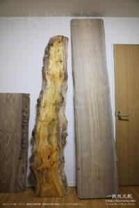 材木店、銘木店で購入した神代杉、ポプラ、神代栗