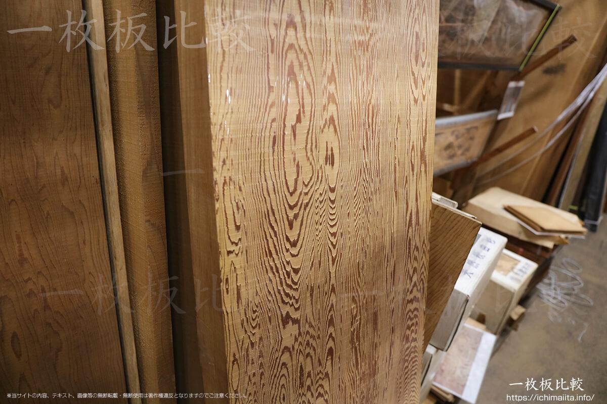 秋田杉の一枚板
