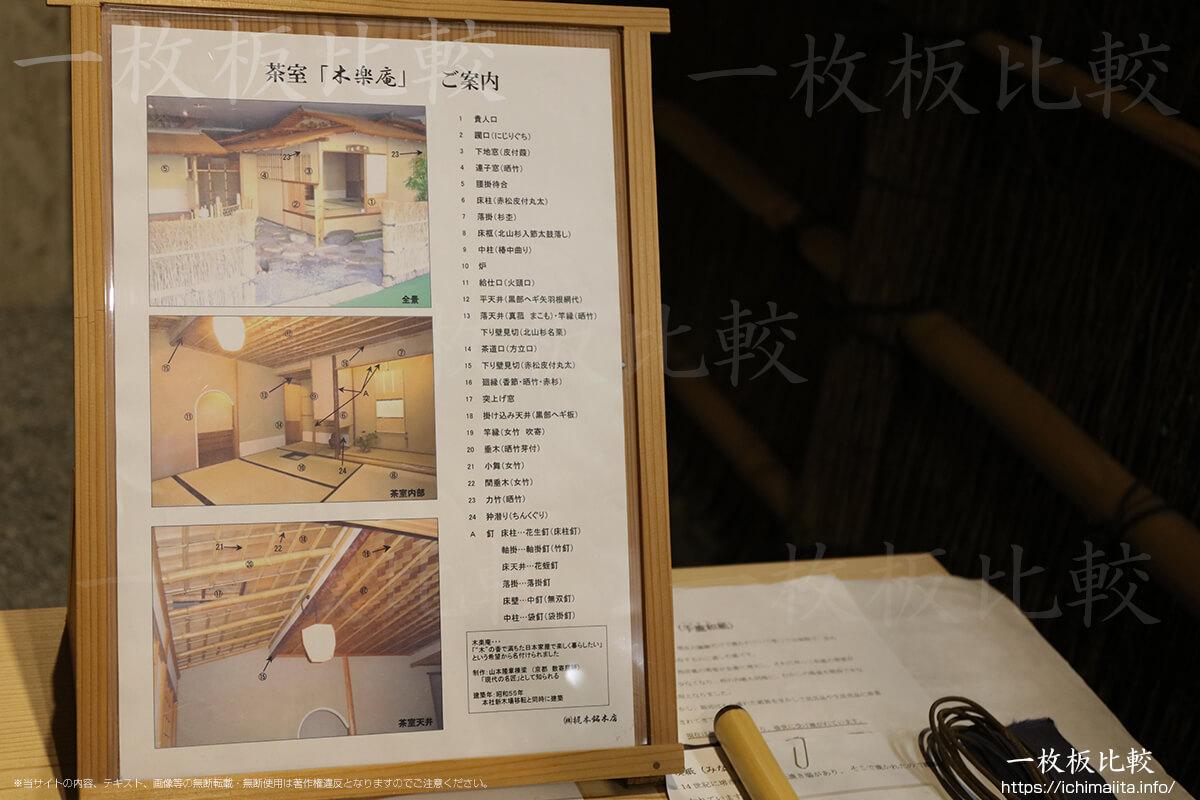 茶室「木楽庵」