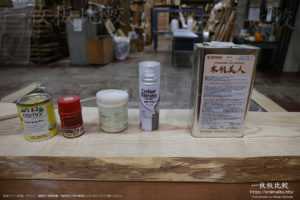 一枚板テーブルの塗装の種類とメリット、デメリット