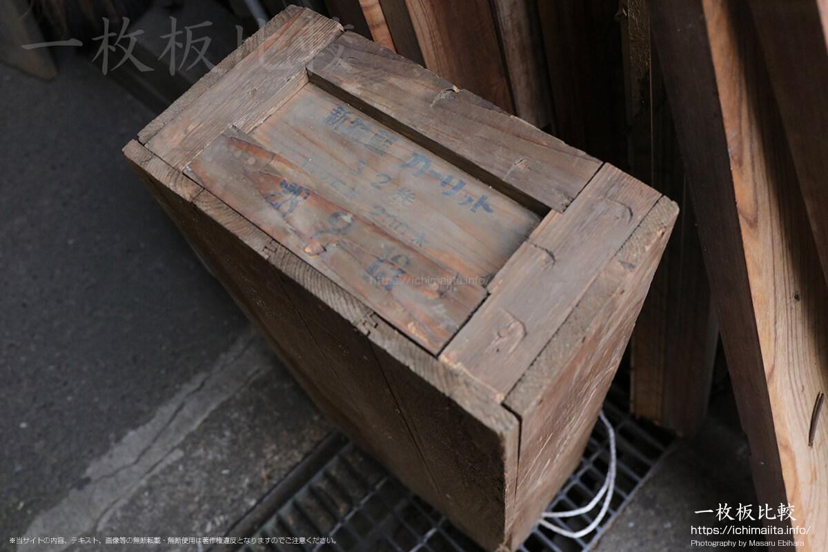 新特藍カーリット(ダイナマイトの箱)