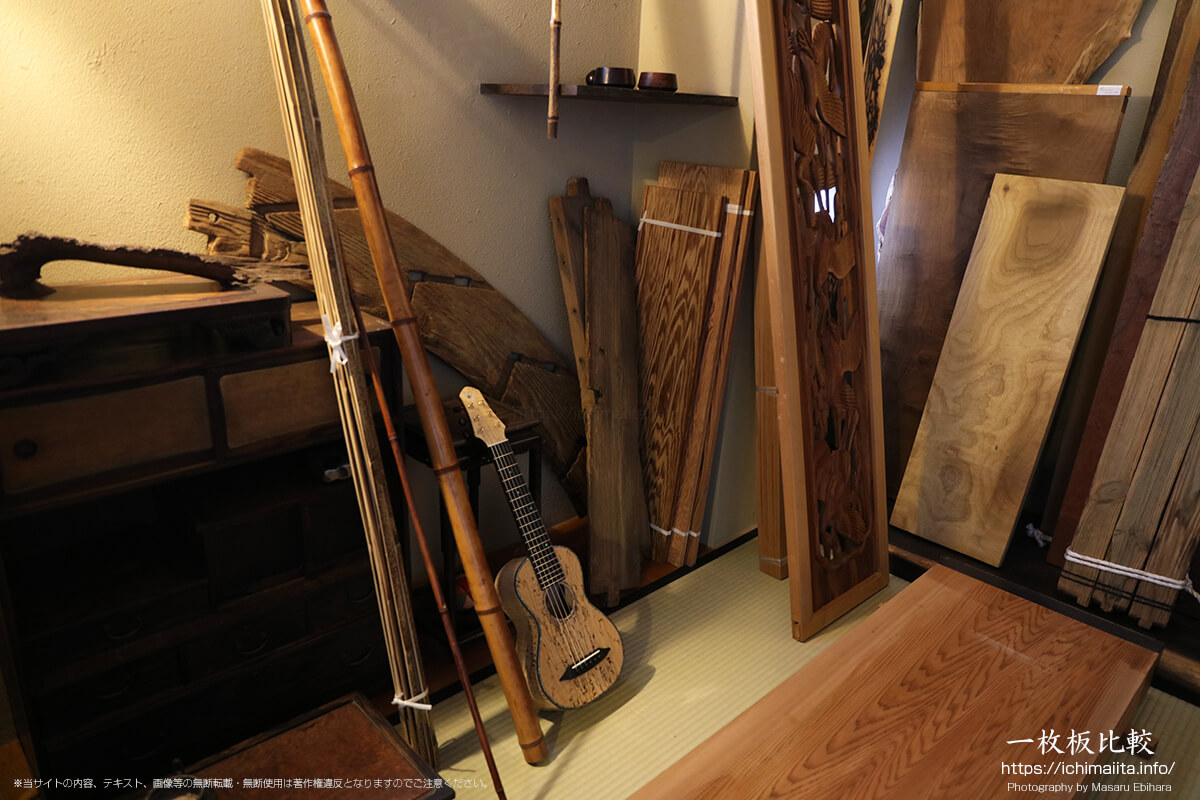 新発田屋木材倉庫の茶室