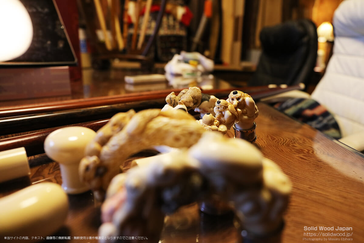 象牙の彫刻