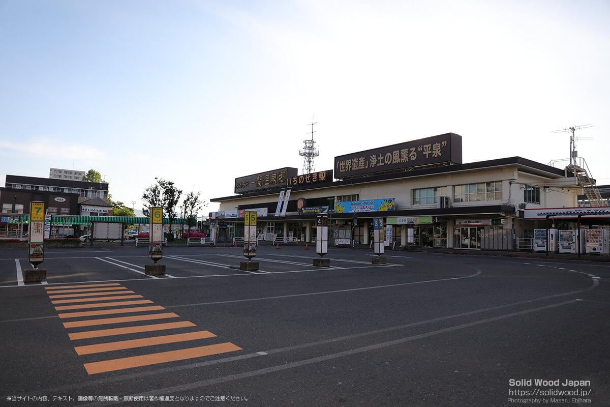 早朝の一ノ関駅