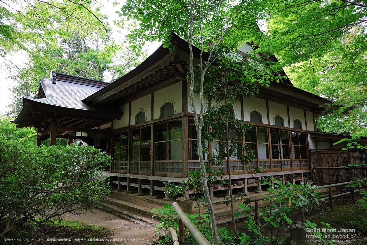 大長寿院(中尊寺)