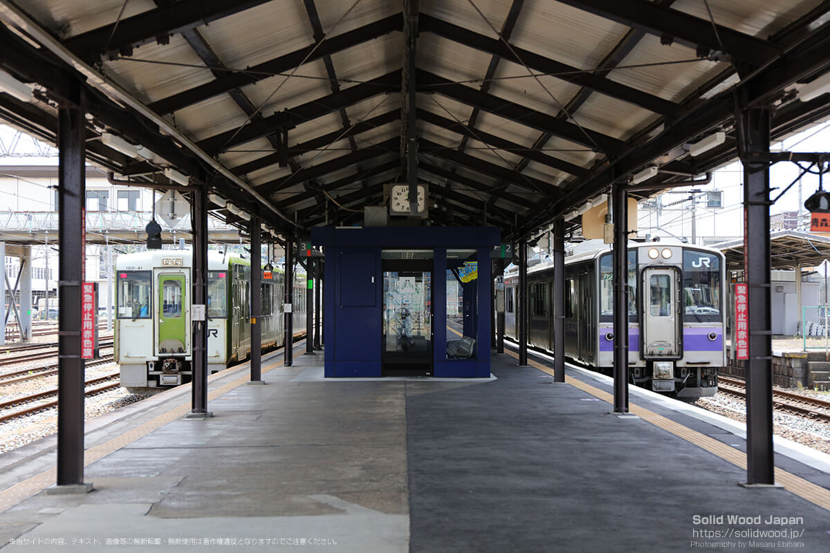 一ノ関駅、大船渡線と東北本線