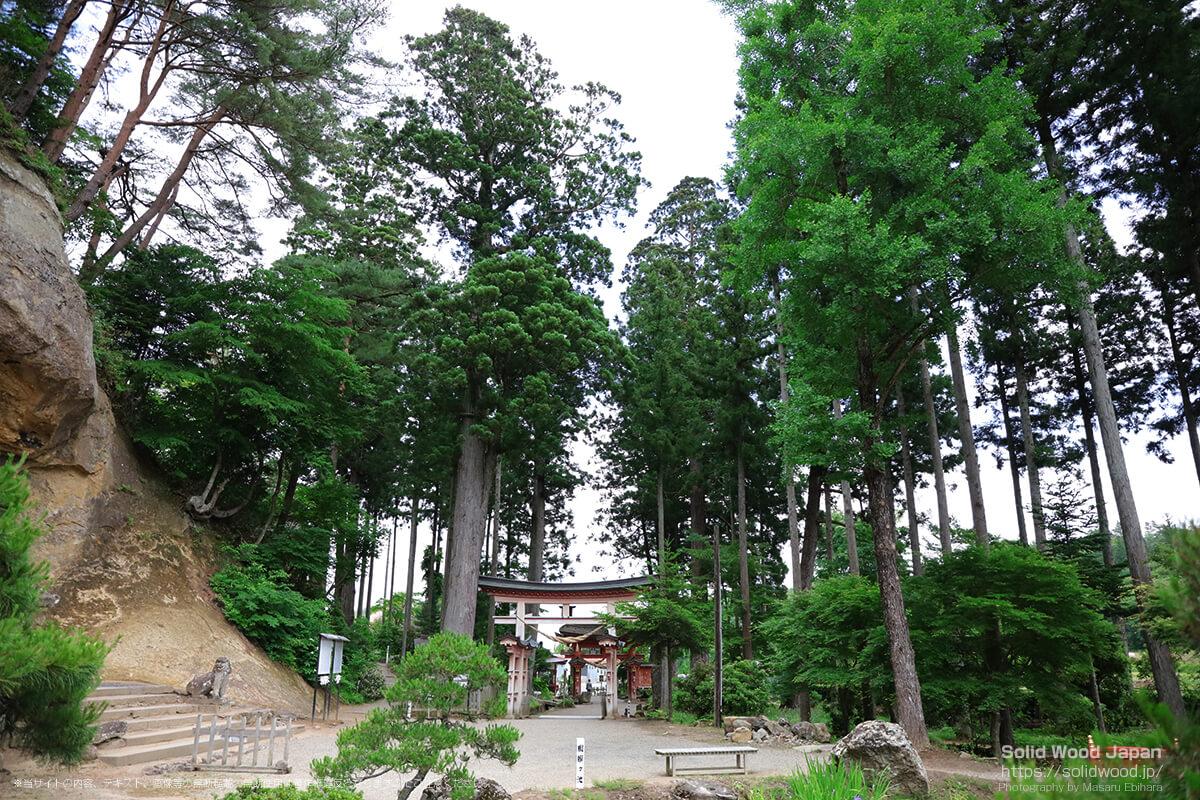 弐之鳥居(達谷窟毘沙門堂)