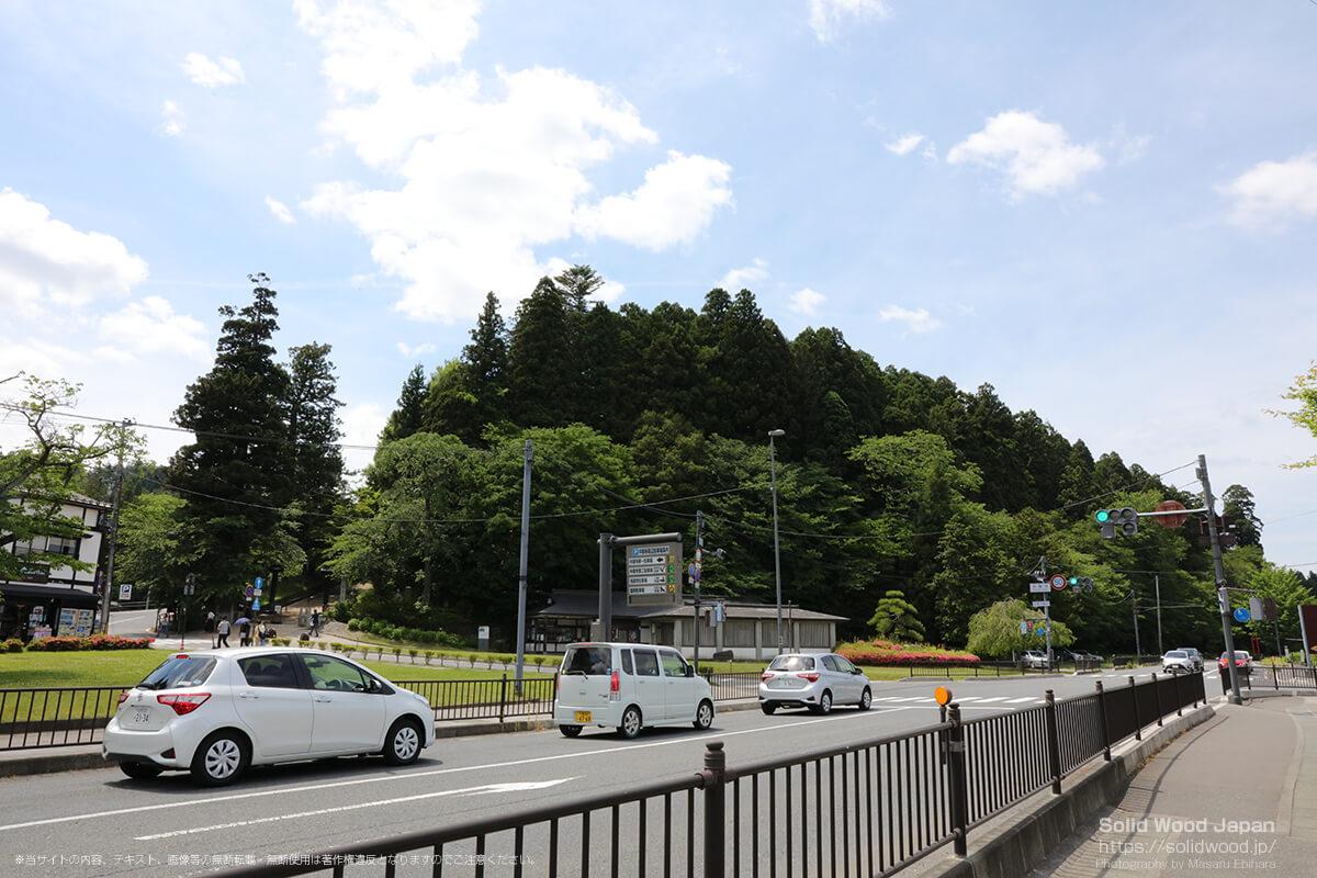 月見坂(中尊寺)