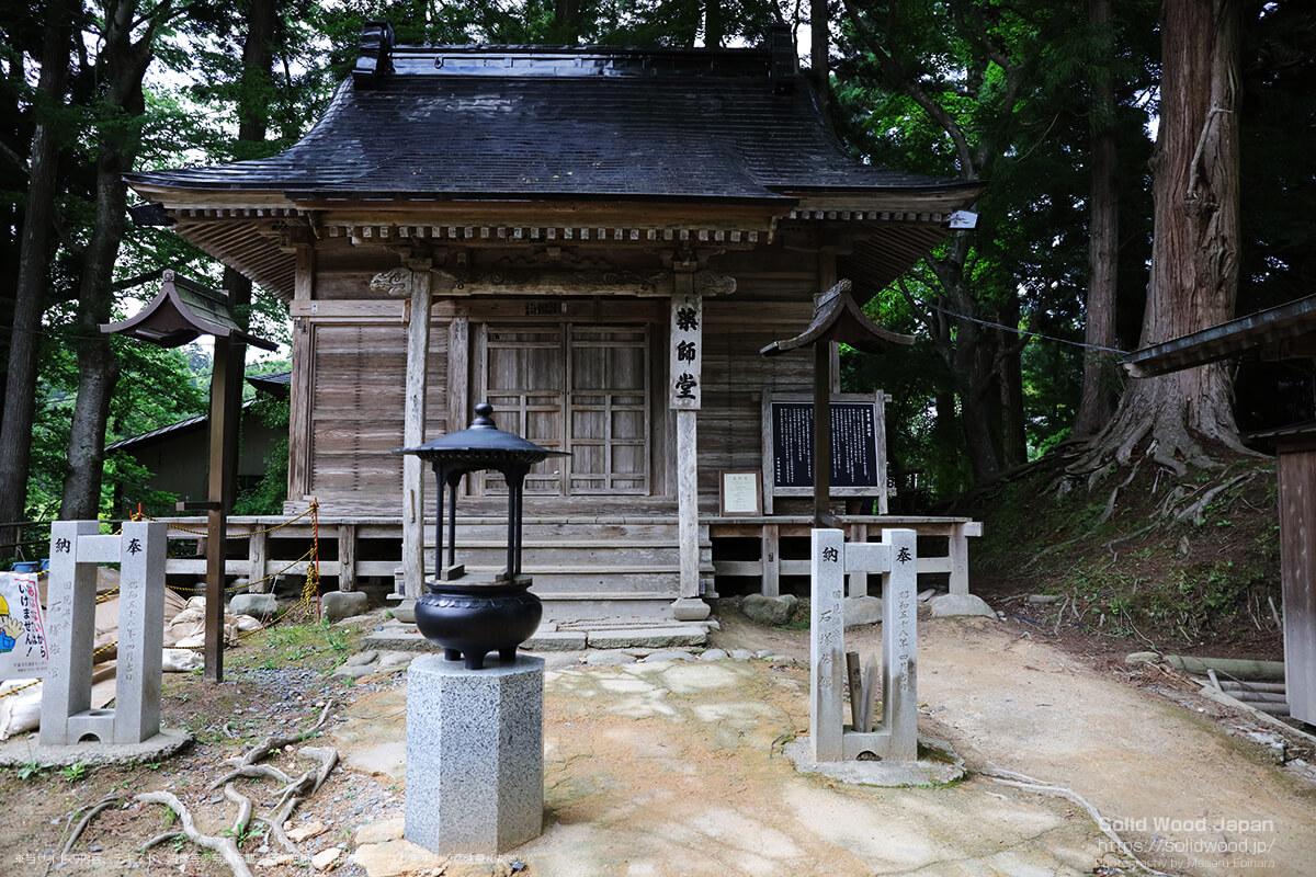 薬師堂(中尊寺)
