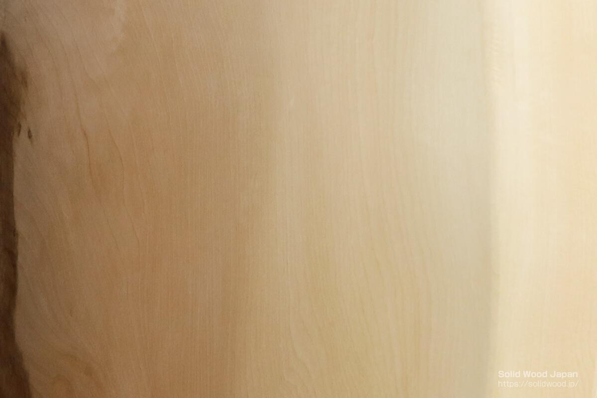 液体ガラス塗装の栃(トチ)