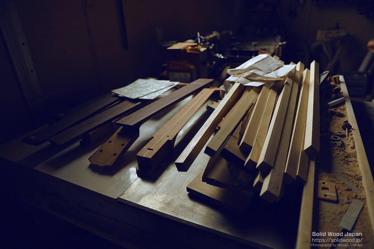 端材の楽器
