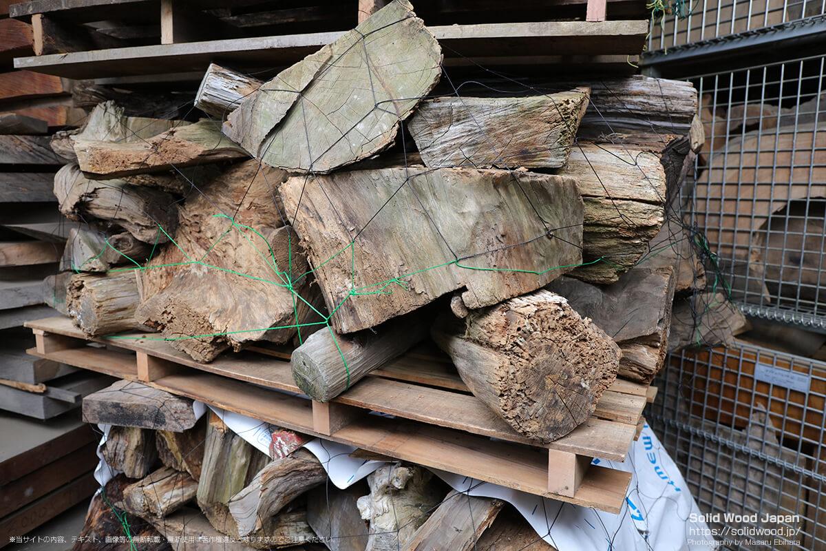 台湾檜の端材