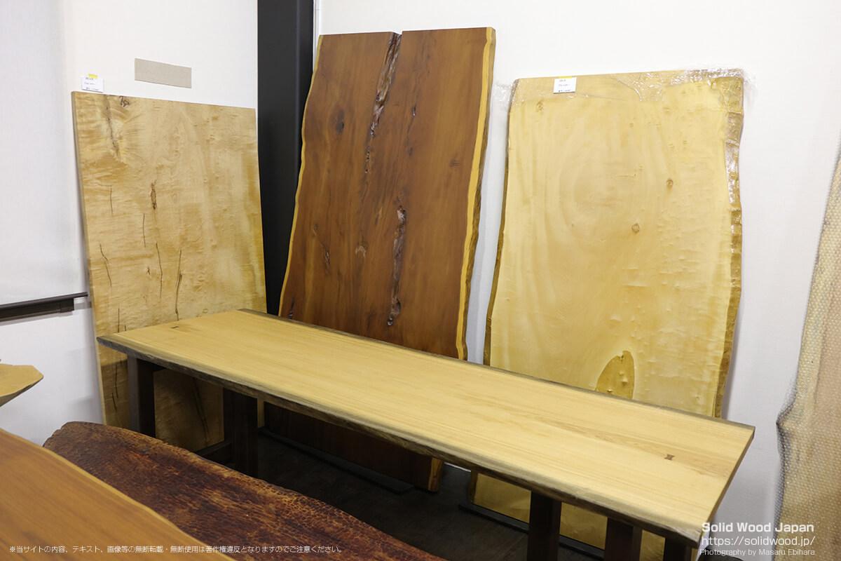 天然木工房アールウッドの一枚板ギャラリー