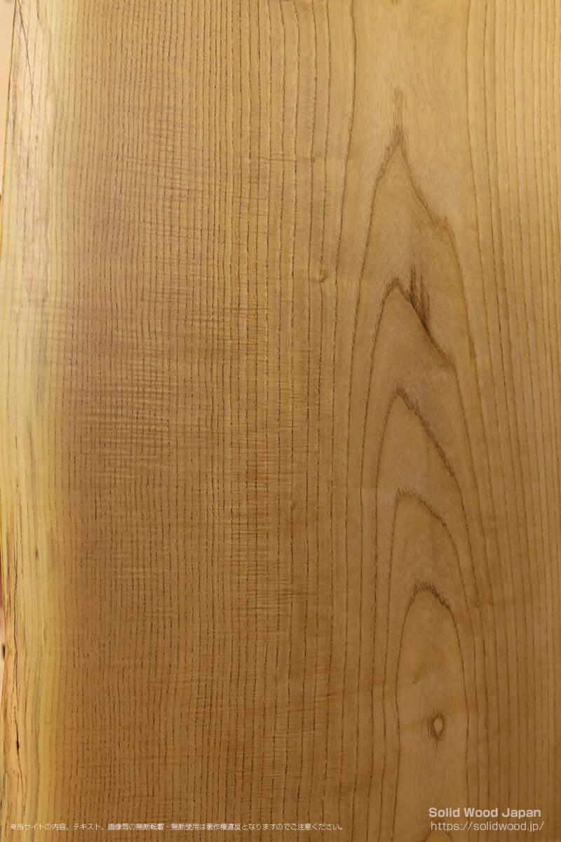 キハダチヂミモク(黄蘗・黄肌縮杢)の一枚板
