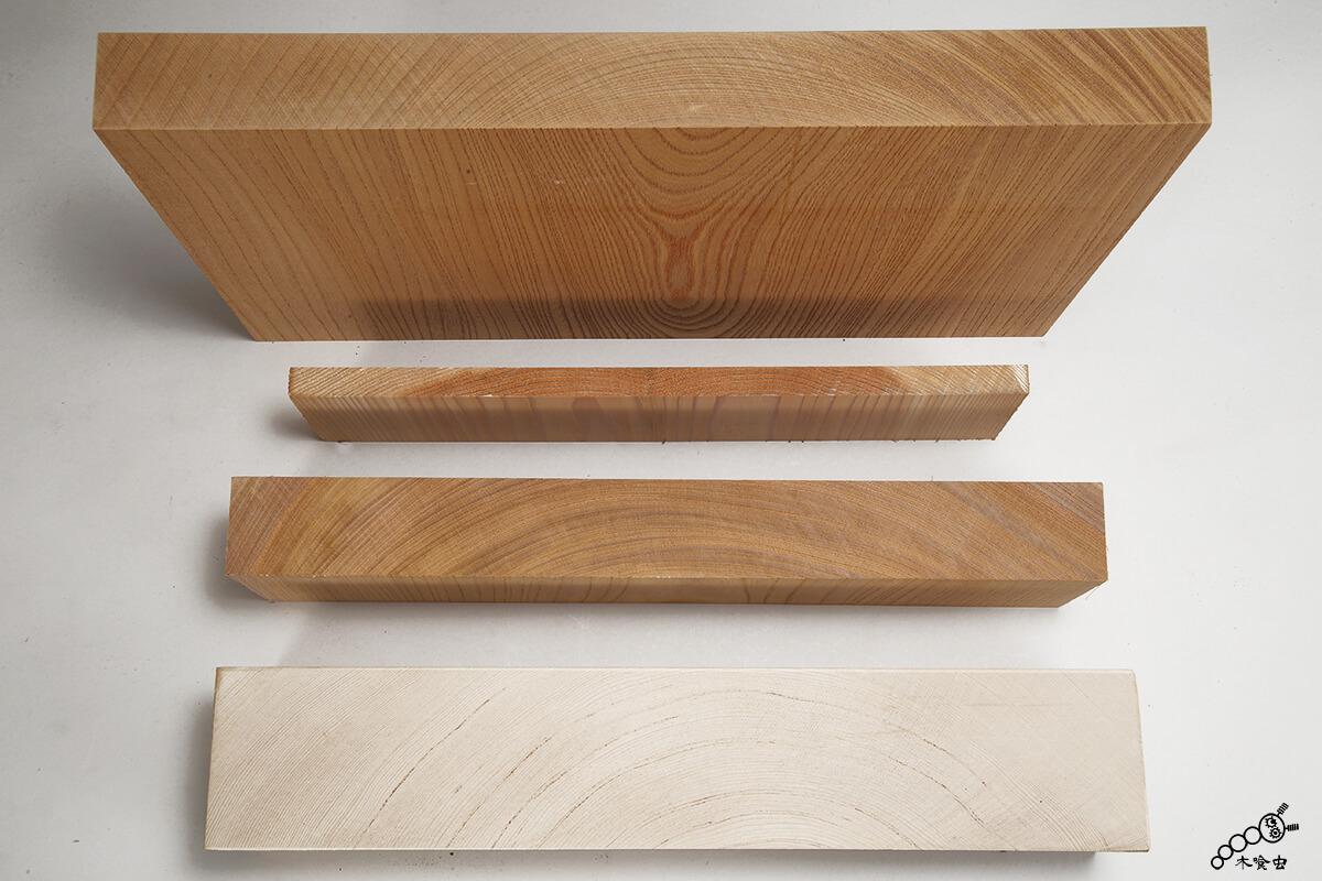 欅(けやき)、桧(ひのき)、杉(すぎ)の盤(ばん)・角材(かくざい)