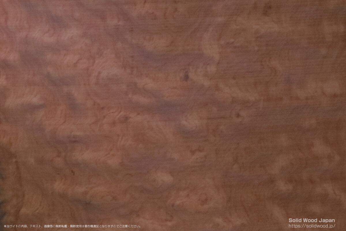 ブビンガ玉杢の一枚板