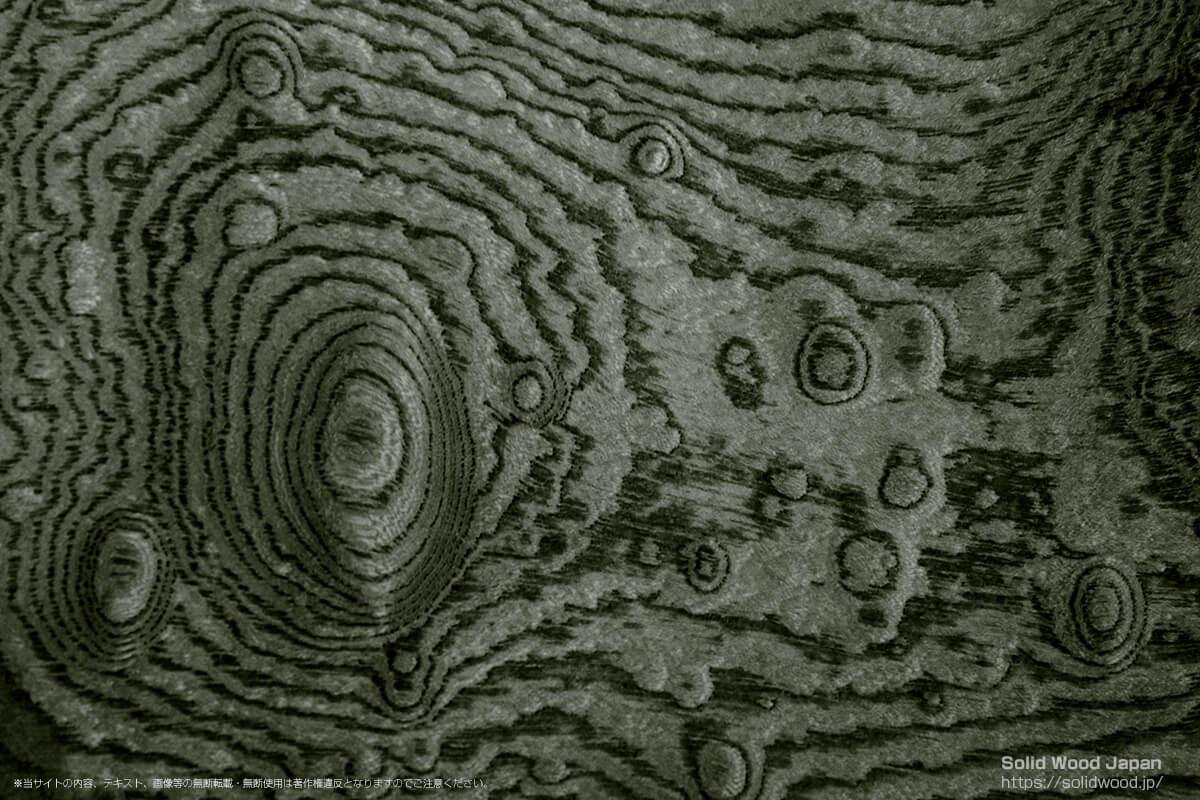 ジンダイケヤキ(神代欅)の一枚板