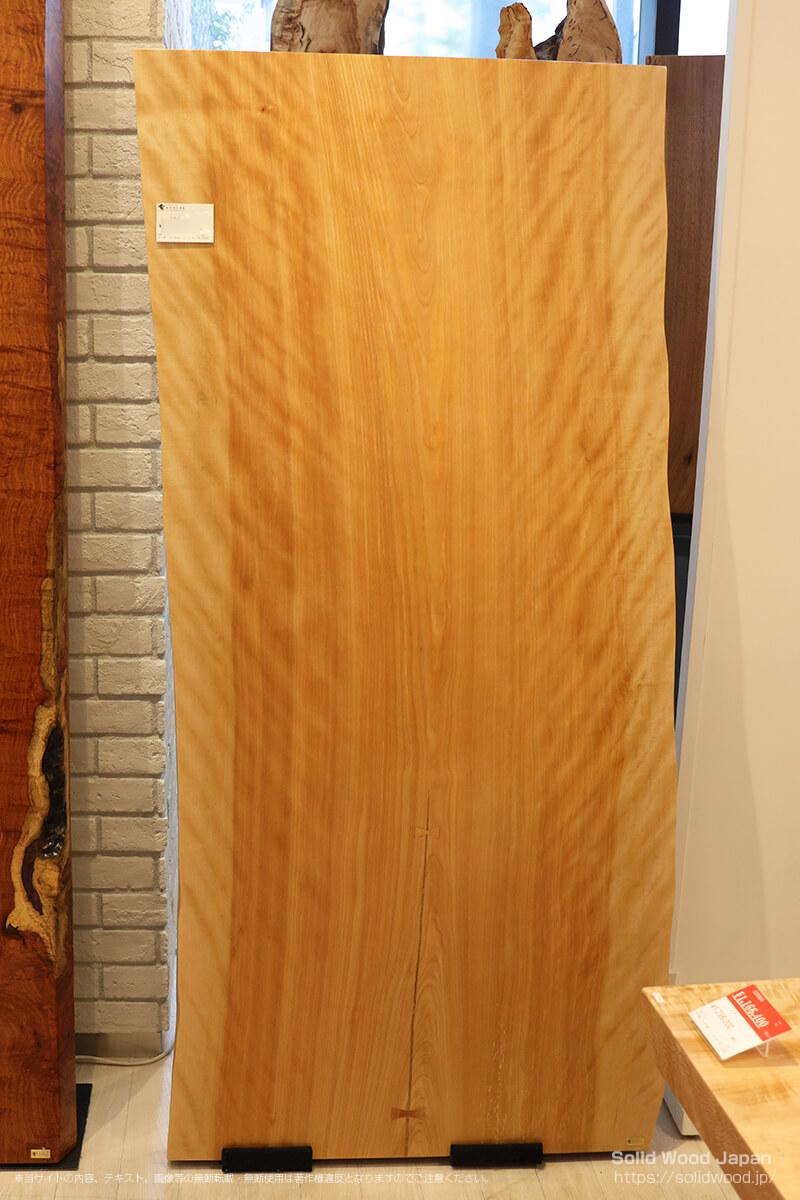 カバ(樺)の一枚板
