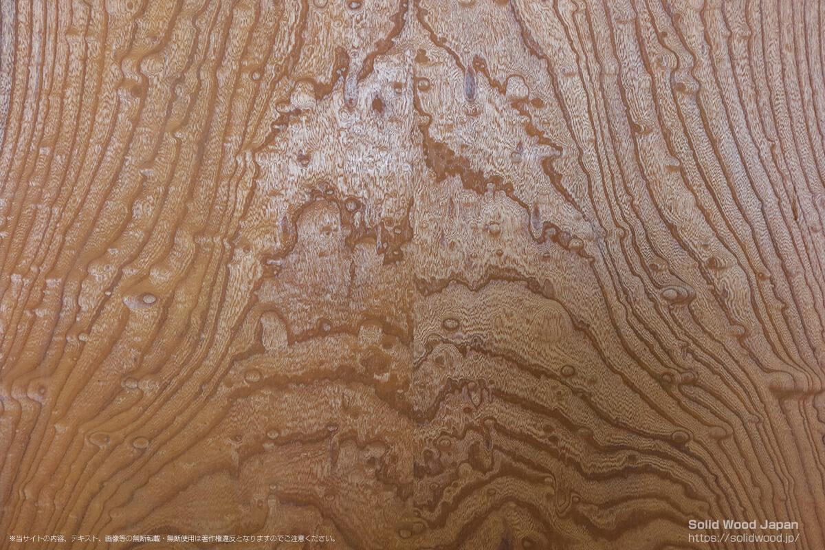 ケヤキタマモク(欅玉杢)の一枚板