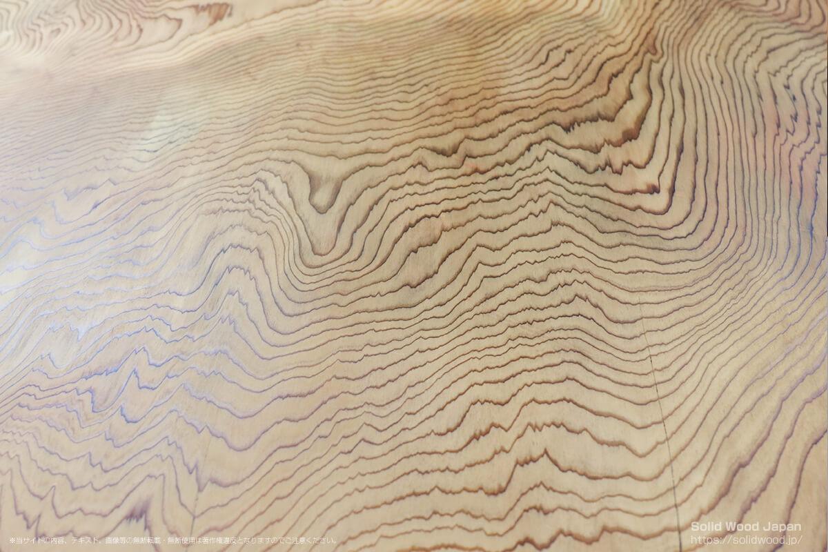 キリシマスギ(霧島杉)の一枚板