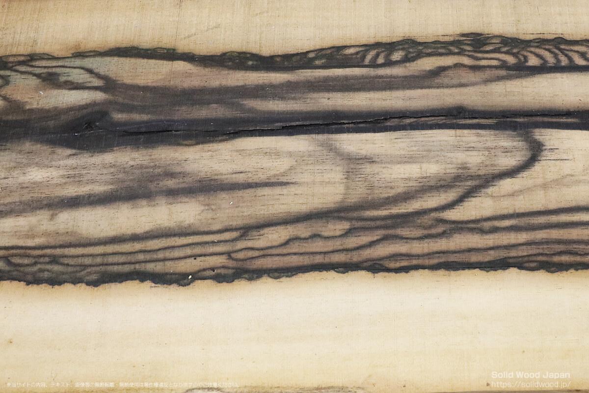 クロカキ(黒柿)の一枚板