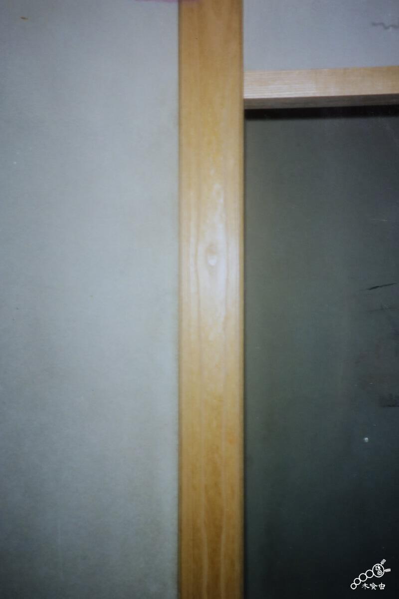 桐の前杢床柱を使った例(茶室)
