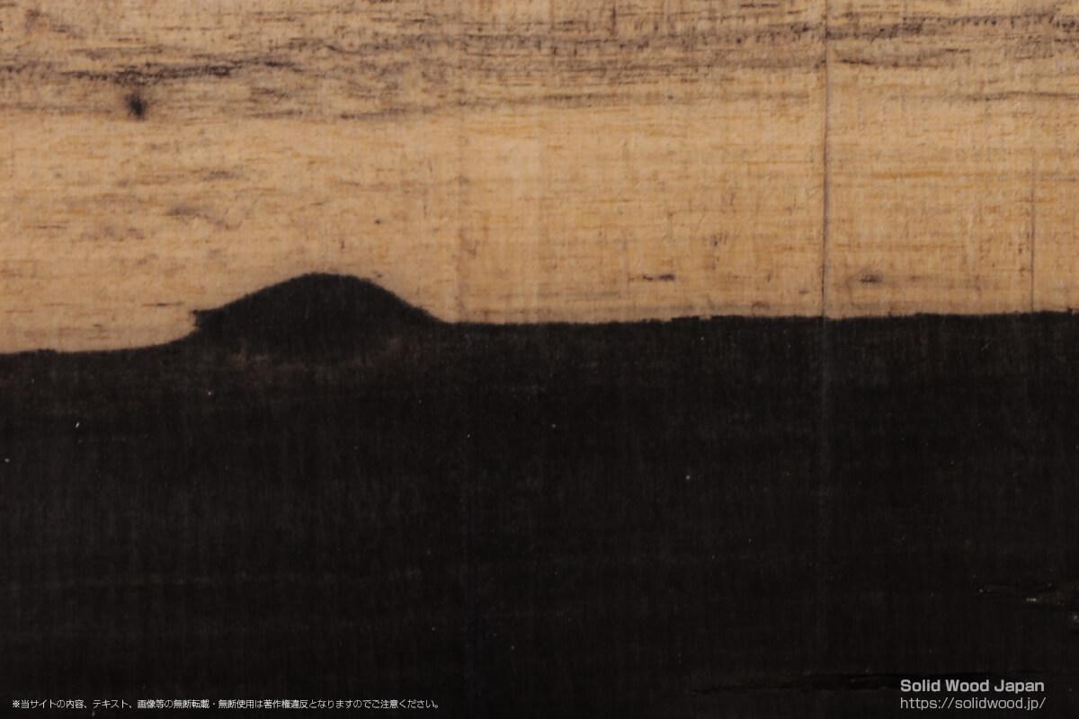 リュウキュウコクタン(琉球黒檀/八重山黒檀)の一枚板