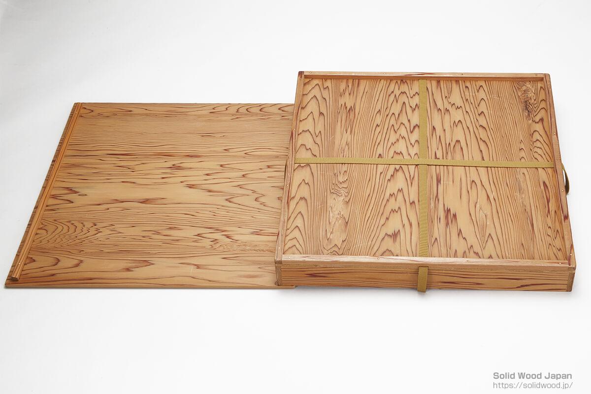 春日大社(奈良県)の神社木で造られた茶道具の箱