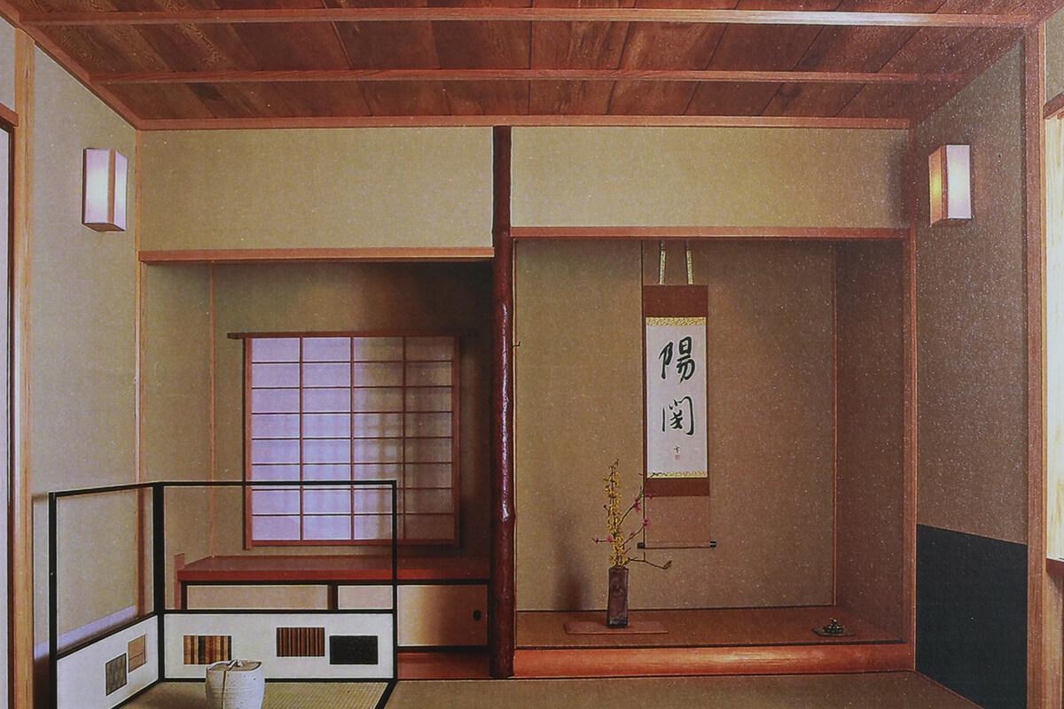 茶室の天井