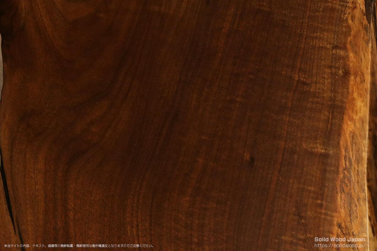 オレゴンブラックウォールナットの一枚板