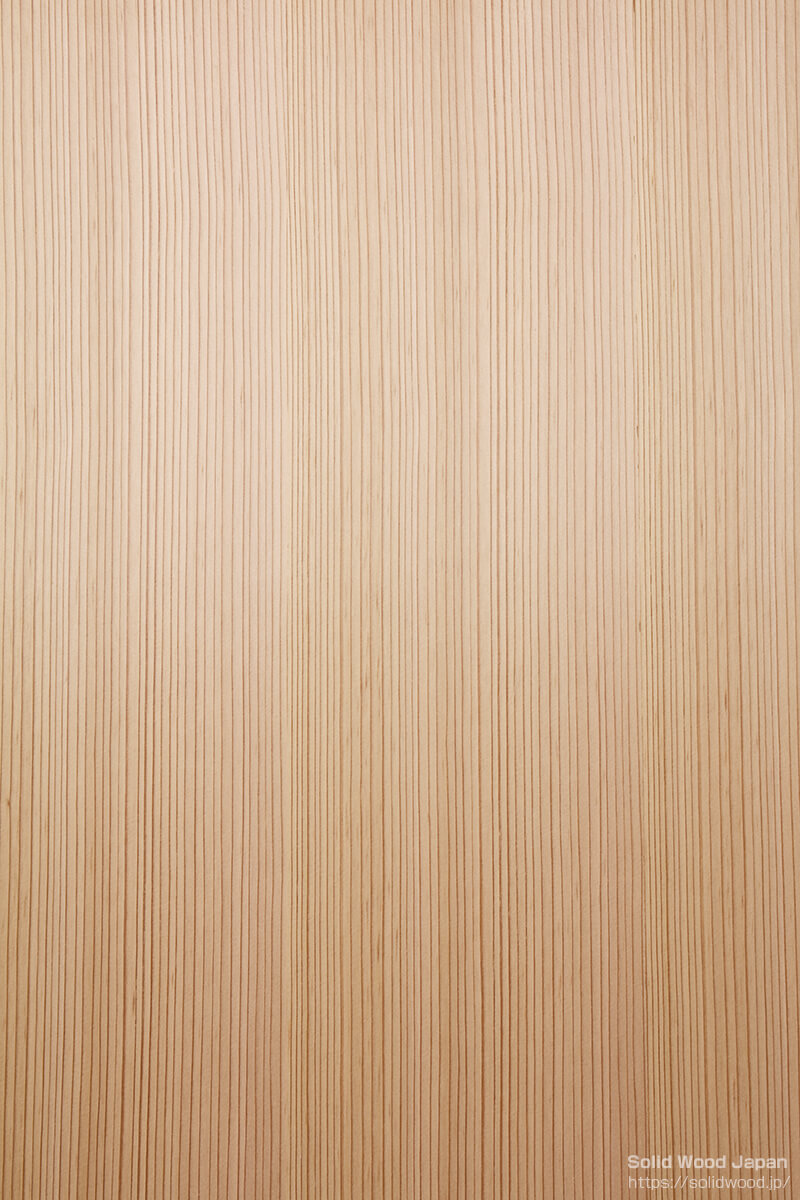 柾目の糸柾(いとまさ)