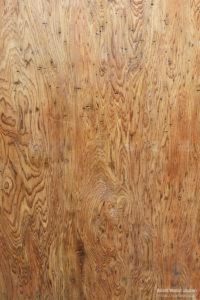 屋久杉・土埋木(どまいぼく)の板全体に虫喰いがある珍しい材