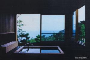 風呂場からの眺望