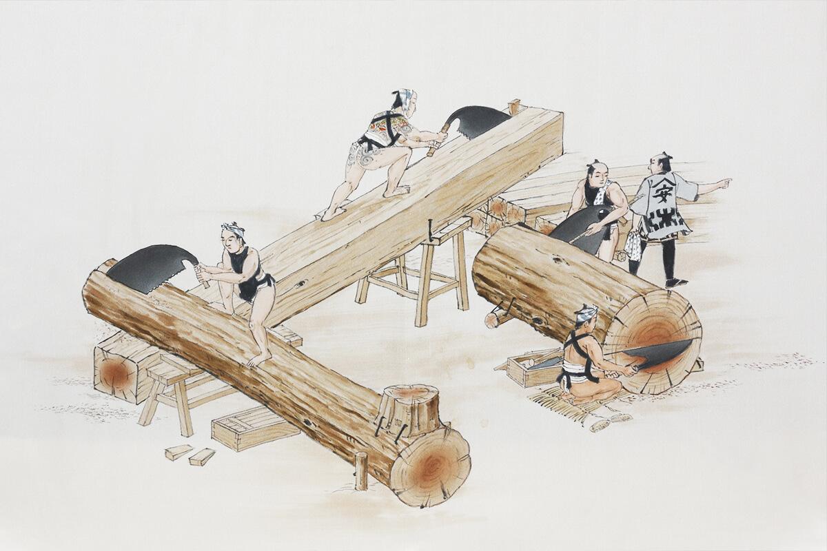 木取りについて
